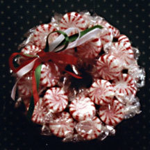 Peppermint Sweets Christmas Wreath