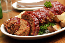 A Luxury Meatloaf Recipe