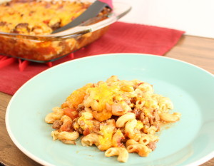 Deliciously Meaty Macaroni Beef Casserole