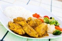 Curried Chicken Casserole Recipe