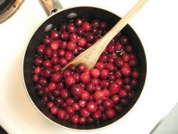 Apple Cranberry Compote