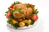 Roast Chicken with Rosemary and Garlic
