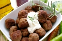 Barbecued Mini Meatballs