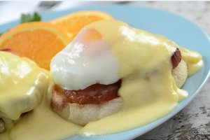 Old Fashioned Eggs Benedict