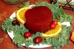 Homemade Jellied Canned Cranberry Sauce