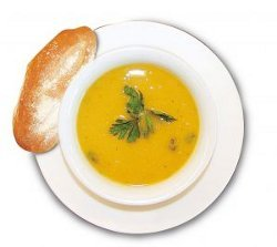 Zesty Cream of Pumpkin Soup