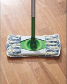 Mop or Sweeper Cover Crochet Pattern