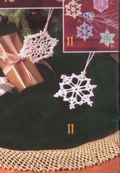 Crochet Bells and Flakes