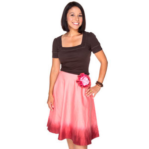 Pink Berries Skirt