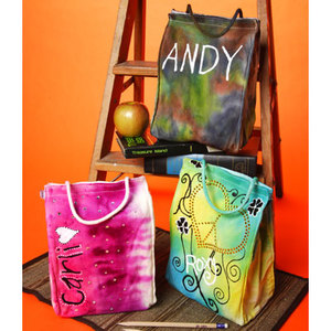 Tie Dye Lunch Bags Tie Dye Techniques Patterns