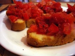 Cheesecake Factory Bruschetta