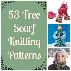 Sirdar Snuggly Knitting Patterns : 59 Free Scarf Knitting Patterns FaveCrafts.com