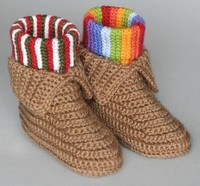 30 Free Crochet Slippers for Everyone