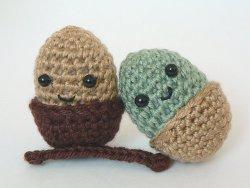 Amigurumi Crochet Acorn