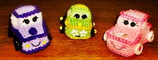 Tiny Wheels Crochet Cars