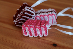 Crochet Ribbon Candy
