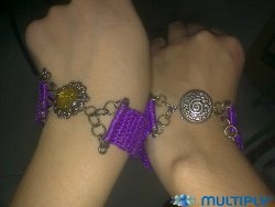 Crochet Wristband