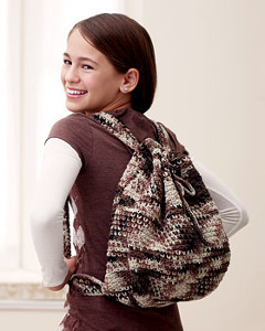 Cool Crochet Backpack