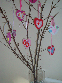 Valentine's Day Heart Tree