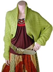 Betty Shrug Crochet Pattern