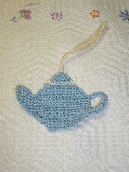 Teapot Bookmark Crochet Pattern