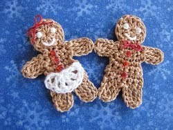Crochet Gingerbread People