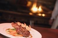 Sizzler Steak and Shrimp Scampi
