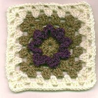 Flower Granny Square