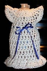 Dish the Dress Crochet Soap Holder