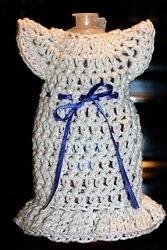Dish the Dress Crochet Soap Holder