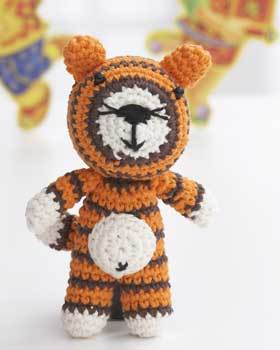 Year of the Tiger Crochet Pattern