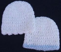 Crochet Baby Hat in Four sizes