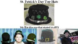 St. Patrick's Day Top Hats