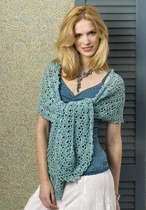 Oasis Crochet Wrap