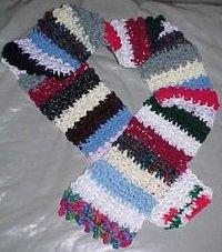 Crochet Crazy Scarf