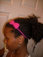 Crochet Bow Accessory