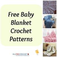 22 Free Baby Blanket Crochet Patterns