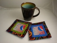 Soda Can Coasters Recycle Crafts for Kids