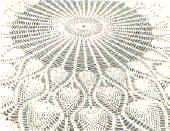 Crochet Pineapple Tablecloth