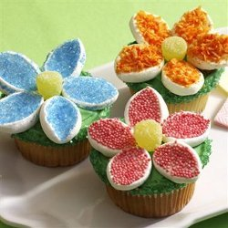 McCormick Hello Flower Cupcakes