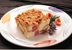 King's Hawaiian Ham & Cheese Casserole