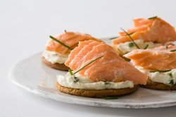 Melba Snacks Atlantic Salmon Bites