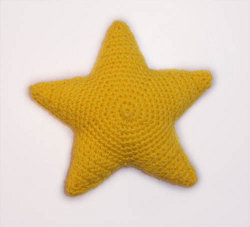 Free Amigurumi Star Pattern : Crochet Star Toy