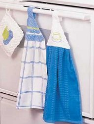 Knit Towel Holder