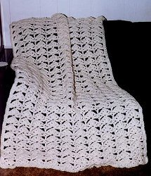 Crochet 3 Stand Easy Afghan