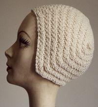 Knit Amelia Earhart Cap