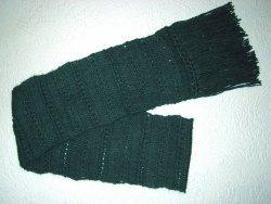 Knit Drop Stitch Scarf