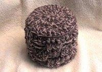 My Basketweave Tissue Cover Crochet