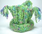 Knit 3-Corner Kids Hat