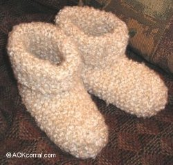 Knit Slippers for Beginners